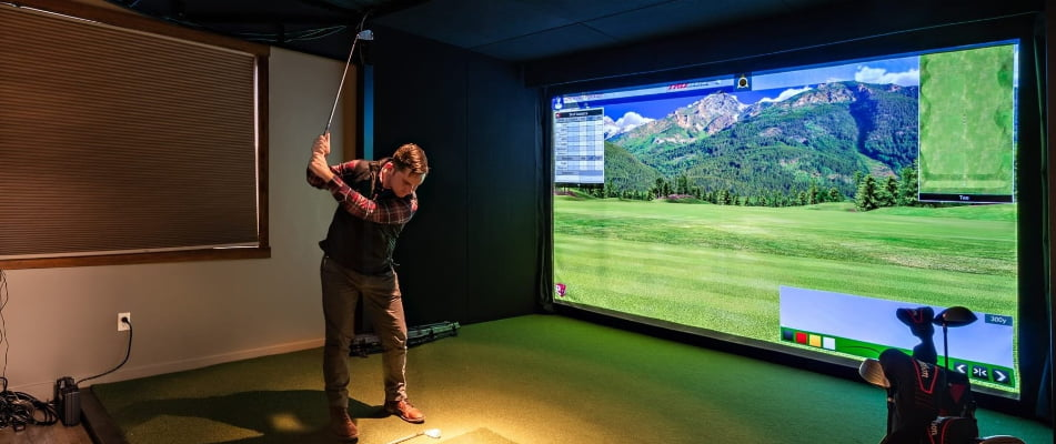 Golf Simulation rooms